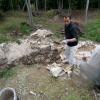 Sanierung an der Mauerspeise.