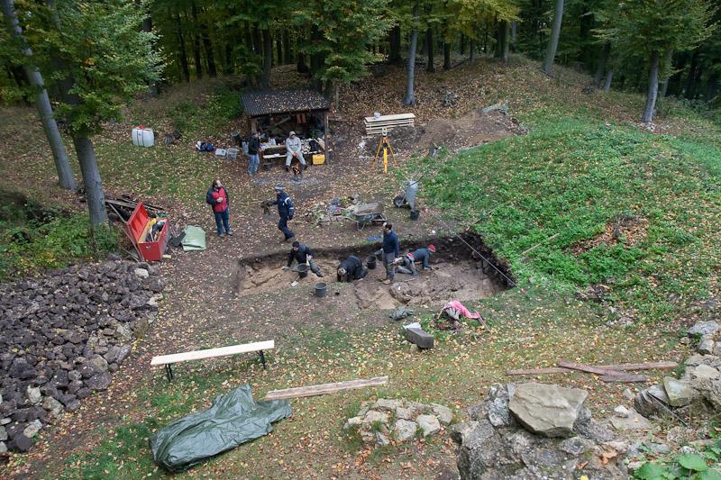 Überblick über das Grabungsareal