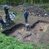 Übersicht über das Grabungsareal
