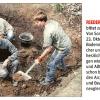 Kleine Zeitungsente zur Grabung, NÖN, Oktober 2015
