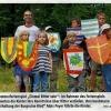Sommerferienspiel: Einmal Ritter sein, Bezirksblatt, August 2011