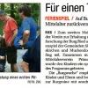 Sommerferienspiel: Einmal Ritter sein, NÖN, August 2011