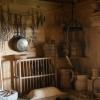 Küche im Blockhaus