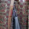 Details der Modeschau (Reproduktion von Kleidung des Hochadels)