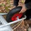 ...und ein neues Rad nach dem Reifenplatzer vom letzten mal...