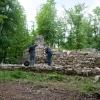 Fortsetzung der Trockensteinmauer