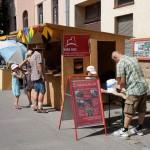 Stand des Vereins am Dorffest Gablitz 2012