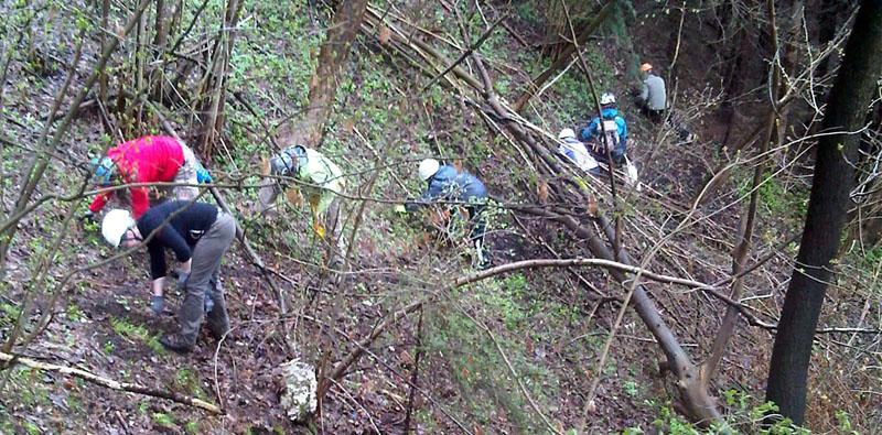 Survey auf Burgruine Eppenstein (Stmk). Foto: FIALE