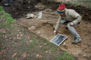 Archäologische Grabung 2015