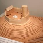 Hypothetische Rekonstruktion der Burg im 13. Jh.