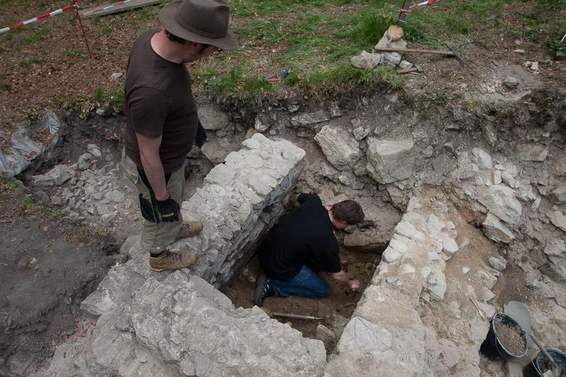 Archäologische Grabung 2018
