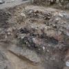 Erreichtes Ziel an der Ringmauer: Die Aussenschale mit einer unerwarteten Wandstärke von bis zu 2,7 Metern.