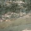 Saniertes Fundament an der Zwingermauer.