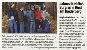 Kurz und Bündig, Jänner 2011