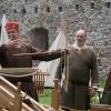 Demonstration der Armbrust mit Obmann Andreas Bichler (Historia Vivens)